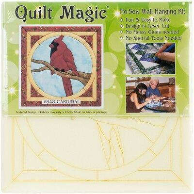 Cardinal Quilt Magic Kit-cardinal