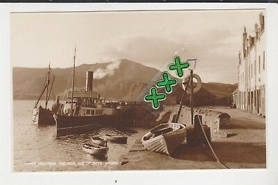Judges Postcard ; Portree, The Pier, Isle Of Skye ( Incl Steamer ).