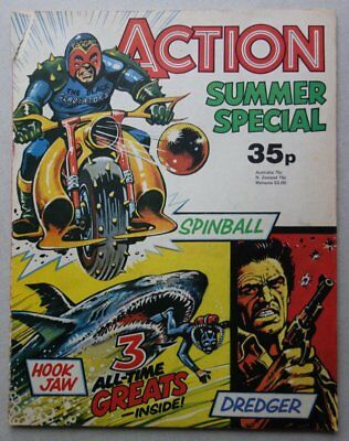 Action Summer Special comic 1978 G/VG (phil-comics)