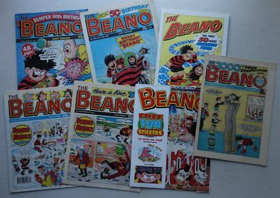 Beano comic Special Issues #2000-3000 x 6 Most VFN (phil-comics)
