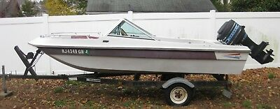 LF - 1981 Thundercraft 15' Bowrider & Trailer - New Jersey
