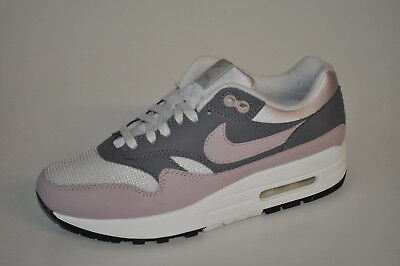 wholesale dealer ddf1d e7c36 Nike WMNS Air Max 1 319986-032 Vast Grey Particle Rose Grau Rosa