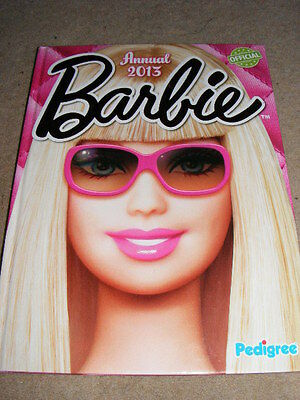 Barbie Annual 2013 Official story etc collectable