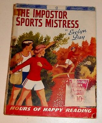 #271 Schoolgirl's Own Library Comics ~ THE IMPOSTER SPORTS MISTRESS ~ 1957