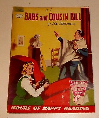 #300 Schoolgirl's Own Library Comics ~ BABS AND COUSIN BILL ~ 1959
