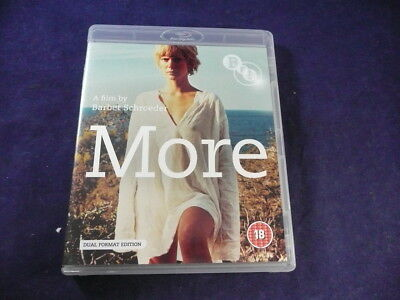 1969  Barbet Schroeder's  More Blu-Ray