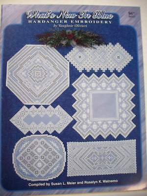 What's New in Blue Hardanger patterns