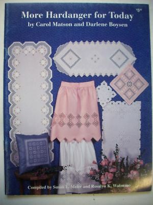 More Hardanger for Today Hardanger patterns