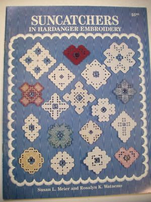 Suncatchers  Hardanger patterns