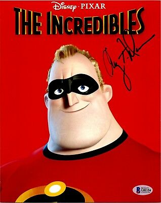 "Craig T. Nelson ""Mr. Incredible"" Autographed 8x10 Photo Beckett Authentication"