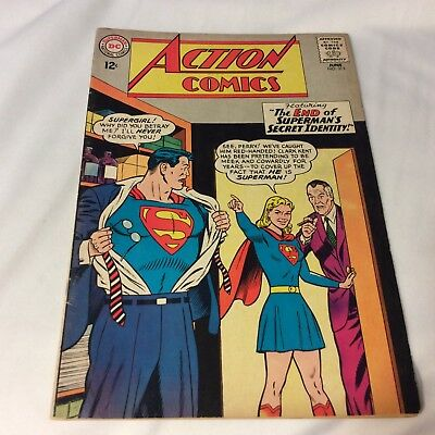 DC comic Action Comic # 313 VG  Cond. Superman Identity Exposed!