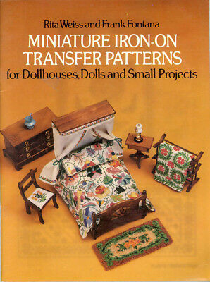 Miniature Patterns For Dollhouse Embroidery - Rugs, Etc