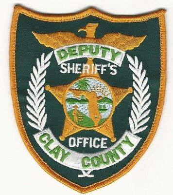 Clay County Sheriff State Florida FL patch