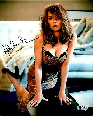 """Joanna Pacula """"Tombstone"""" Autographed 8x10 Photo Beckett Authentication"""