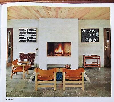 Vtg 1968 BORGE MOGENSEN Mid Century Furniture Danish Modern CATALOG 1960s chairs