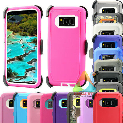 For Samsung Galaxy S8 S8+ Case (Clip fits Otterbox Defender) B13 Holster