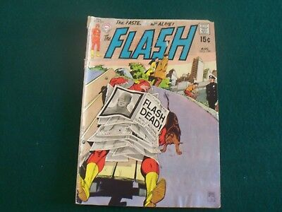 The Flash 1970 DC Comic AUG.  Book #199