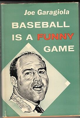 1960 Baseball  Baseball is a Funny Game by Joe Garagiola - Ex+  16th Printing