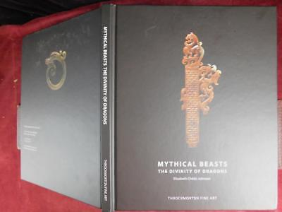 CHILDS-JOHNSON: MYTHICAL BEASTS, DIVINITY of DRAGONS/JADE CHINA/RARE 2017 SIGNED