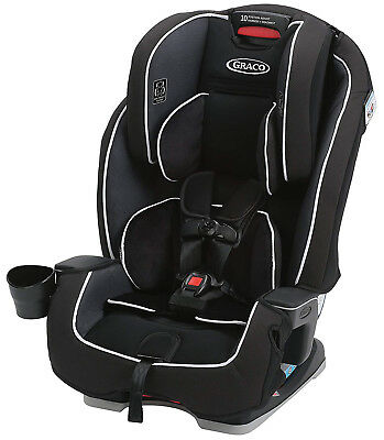 Graco Baby Milestone All-in-1 Convertible Car Seat Booster Child Safety Gotham