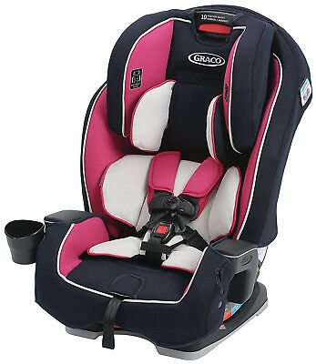 Graco Baby Milestone All-in-1 Convertible Car Seat Booster Child Safety Ayla NEW