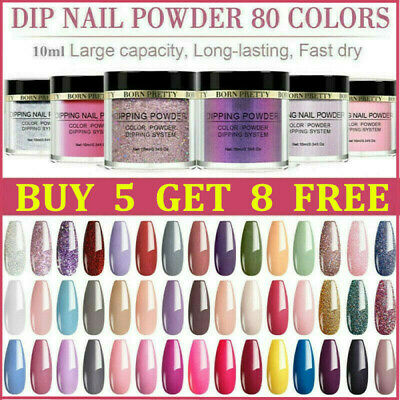 BORN PRETTY Nail Dipping Powder Salon Acrylic Quick Dip System Liquid Pro Kit