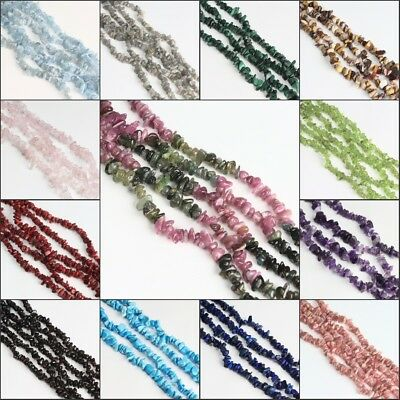 Freeform Natural Gemstones Chips Beads for Necklace Bracelet Earrings Making DIY