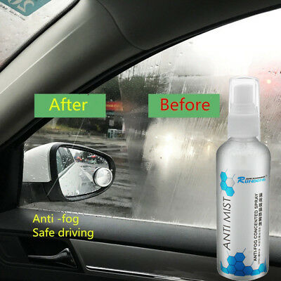 100Ml Care Car Anti Fog Spray Demister Window Car Defroster Windscreen Cleaner
