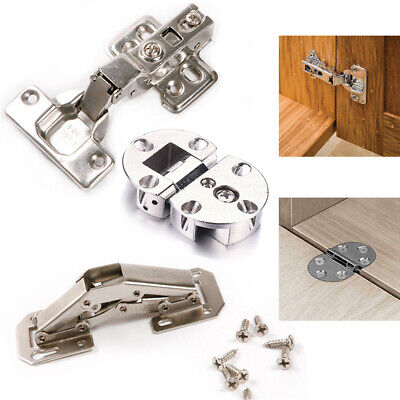 Full Half Angular Soft Close Kitchen Cupboard Cabinet Door Damping Hinges 1/2/4X