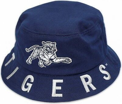 215e645eb96ee6 Big Boy Jackson State Tigers S4 Mens Bucket Hat [Navy Blue - 59 cm]