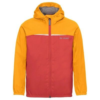 VAUDE Turaco Jacket Kinder Regenjacke orange