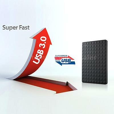 Seagate 500GB Expansion USB 3.0 Portable External Hard Drive HDD for Laptop PC
