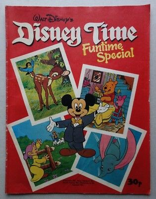 Disney Time Funtime Special comic 1977 G/VG (phil-comics)