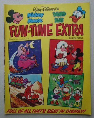 Mickey Mouse Donald Duck Fun-Time Extra comic 1976 FN+ (phil-comics)