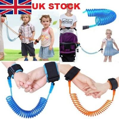 K Child Kid Anti-lost Safety Leash Wrist Link Harness Strap Reins Traction Rope