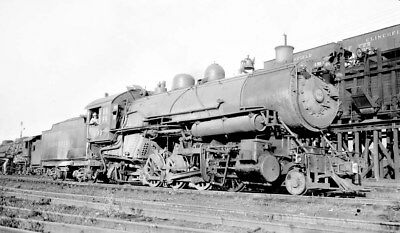 Negative - Clinchfield Railroad 2-8-2 Type Steam Locomotive No. 499