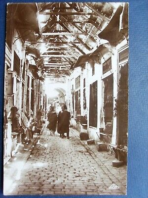 tunisie ,tunis ,carte photo ,  souk el blagdjia ( des babouches )