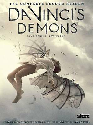 PARTIAL SEASON Da Vincis Demons: The Second Season (DVD, 2015) INCLUDES DISC 1&2