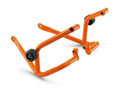 KTM 125 200 Duke Crash Bar Set & Crash Bung Orange New RRP £139.26 9021296804404