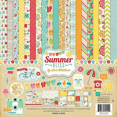 """ECHO PARK - """"Summer Bliss"""" 12"""" x 12"""" Kit - Everything you need to Dream Big"""