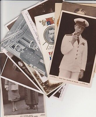 Vintage Postcards,all Royals,queen,king,1.49 Start For The Whole Collection