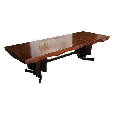 Scapinelli 1960s Brazilian Jacaranda Dining Table for Ten
