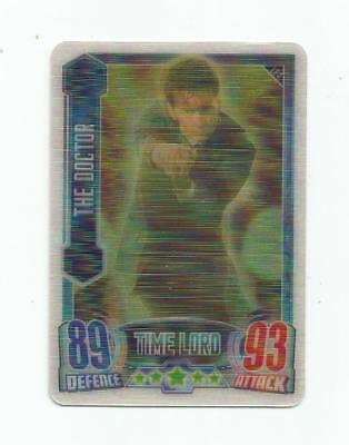 """Topps Doctor Who Alien Attax """"the Doctor"""" #le4 3-D Limited Edition Card"""