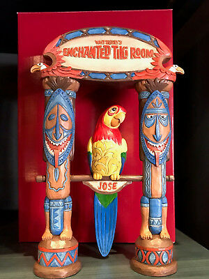 Disney Parks 2018 Jim Shore Enchanted Tiki Room 55th Parrot Jose Figurine