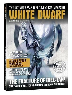 """GW White Dwarf  #6 """"The Fracture of Biel-Tan!, The Gathering Storm Swe Mag MINT"""