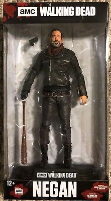 "McFarlane Toys The Walking Dead TV Negan 7"" Collectible Action Figure CASE FRESH"