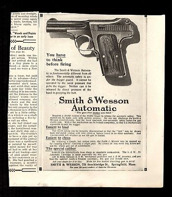 Smith & Wesson Automatic 1914 Advertisement