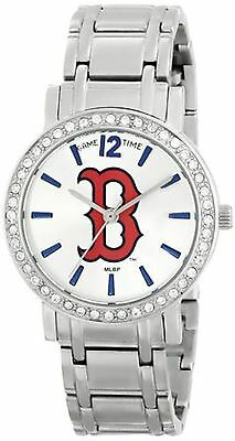NEW Game Time MLB-AS-BOS Womens MLB All Star Series Boston Red Sox Silver Watch