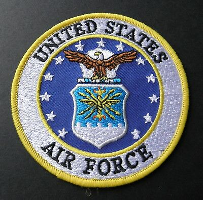 Usaf Us Air Force Embroidered Patch 4 Inches
