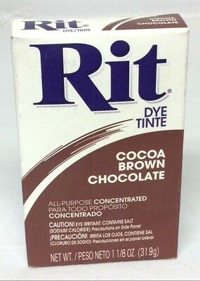 Rit Tint And Dye Powder - Cocoa Brown - 1 1/8 oz - Tie Dye, Arts, Crafts, Fabric